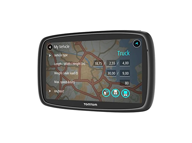 TomTom Trucker 6000 lts (Lifetime Maps)