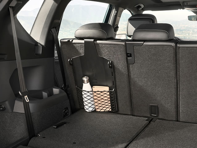 Luggage compartment multi-function accessory