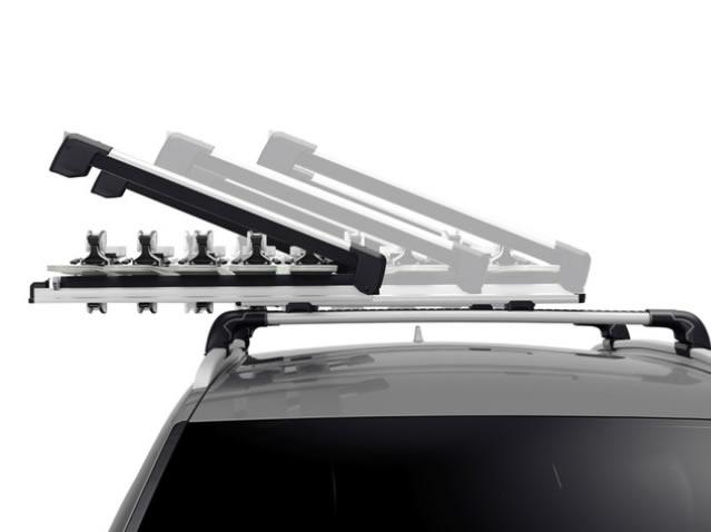 Extendable ski & snowboard rack
