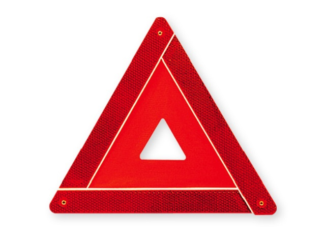 Warning triangle (1 unit)