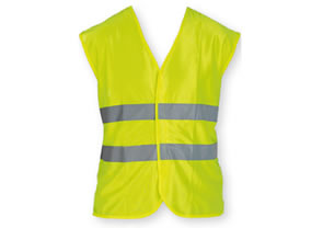 Yellow reflective vest (minimum order 300 units)