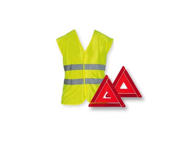 Pachet de siguranță (triunghi + vestă)