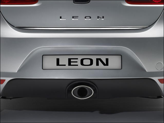 Central sport exhaust for Leon FR 2.0 TFSI engines