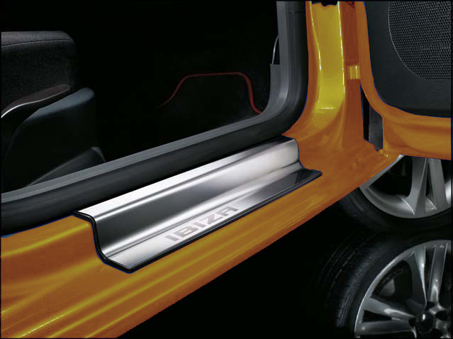 Steel exterior side sill