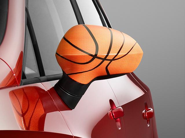 Side mirror trim Basket