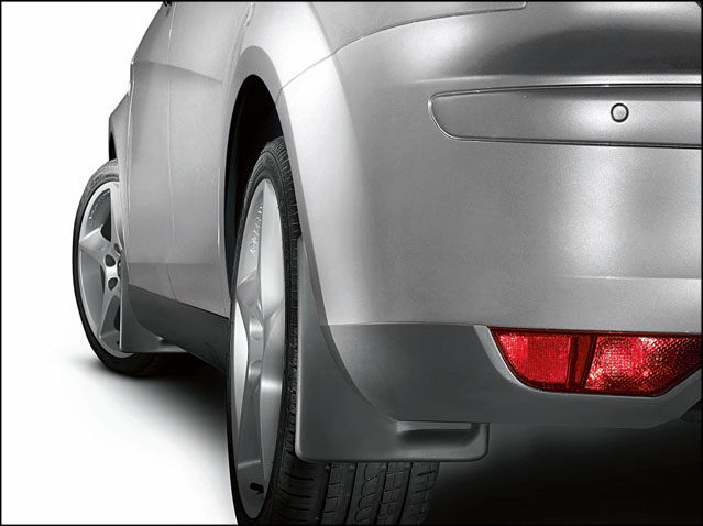 Rear mudflap set