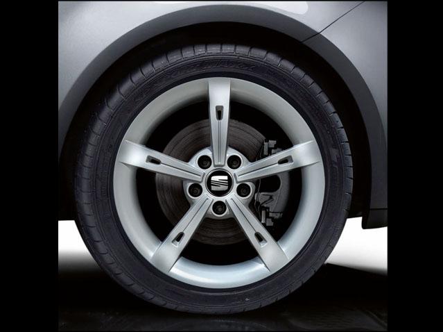 """17"""" alloy wheel, Metallic silver ALHENA"""