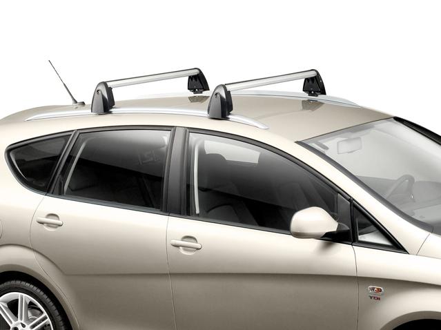 Roof bar set aluminium profile