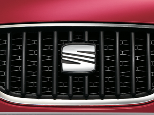 Front grille trim