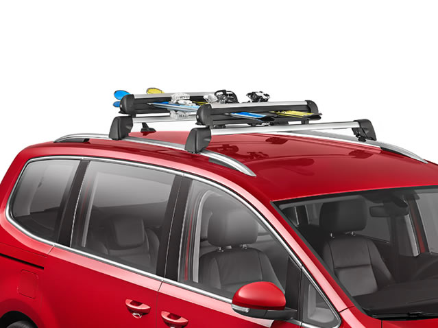 Ski & snowboard rack, 6 pairs