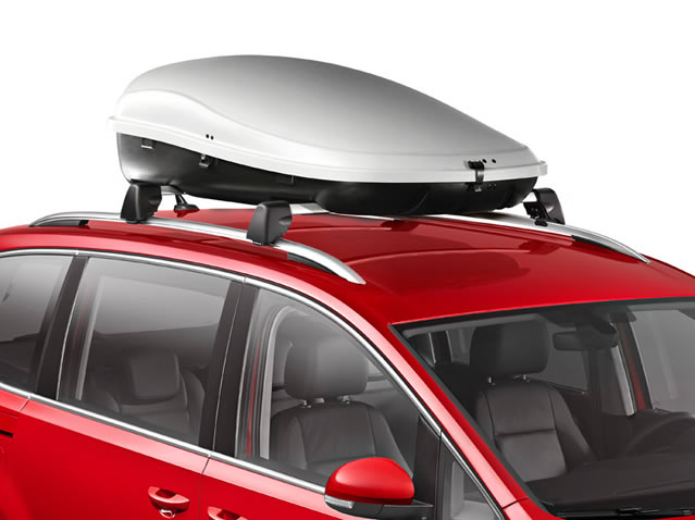Roof compartment, 450 litres