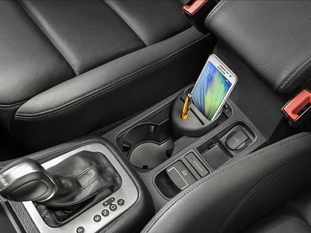 Storage Compartment for Drink Holder