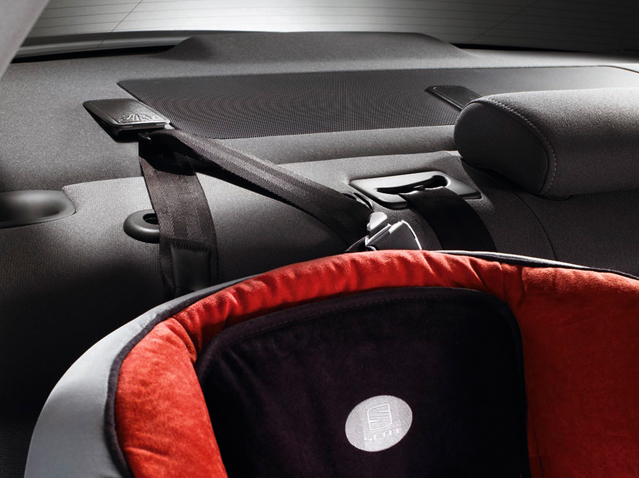 Seat belt Top Tether