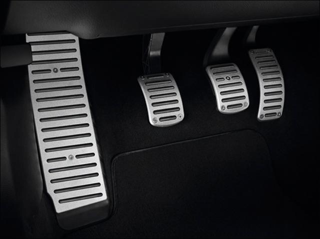 LHD sport pedals