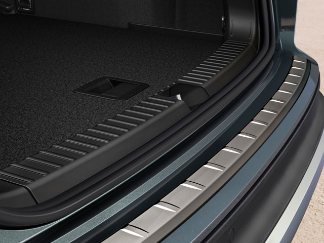 Protective luggage compartment moulding