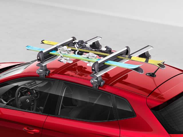 Ski- und Snowboard-Träger (6 Paar)