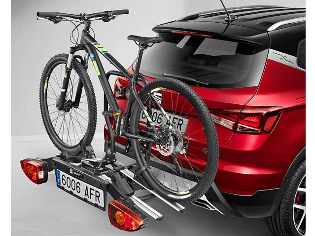Suport de biciclete pentru cârligul de remorcare cu logo SEAT
