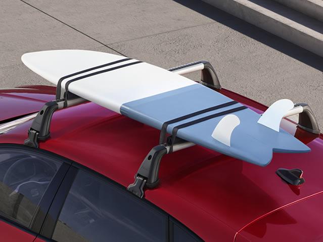 Surfboard rack