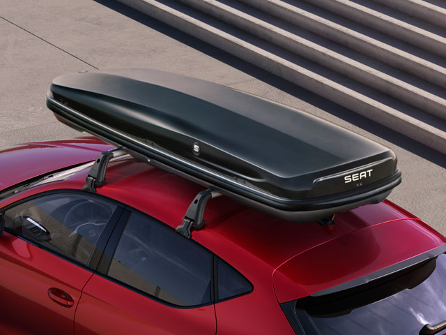 SEAT 460-litre roof compartment