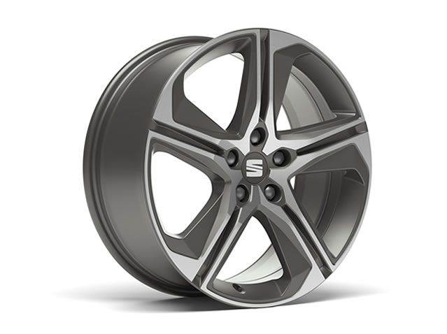 18'' FR diamond cut aluminium alloy wheel