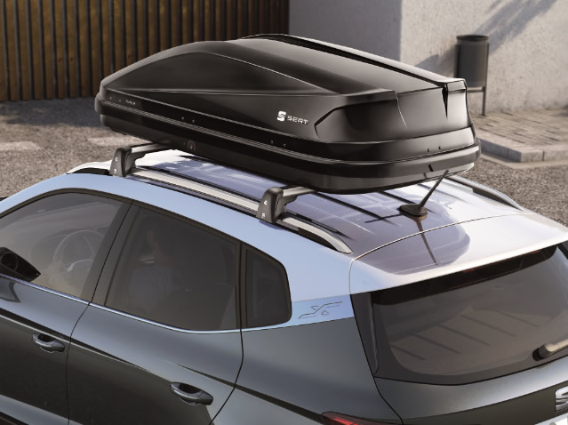 SEAT 400-litre roof compartment