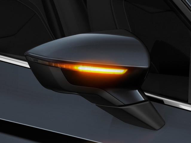 Semnalizatoare pentru oglinzile retrovizoare exterioare cu LED dinamic (Nuanță mai închisă)