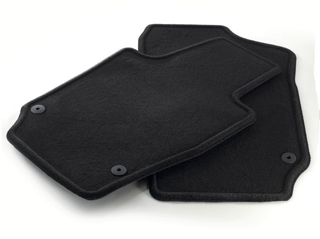 Set of black Velpic mats