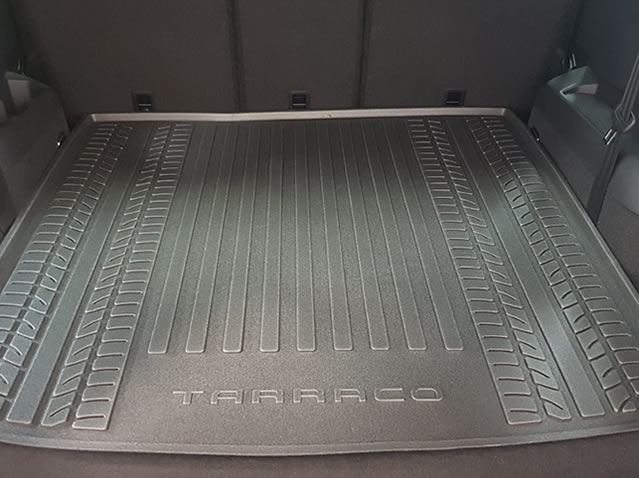 Luggage compartment inlay (5 seats)