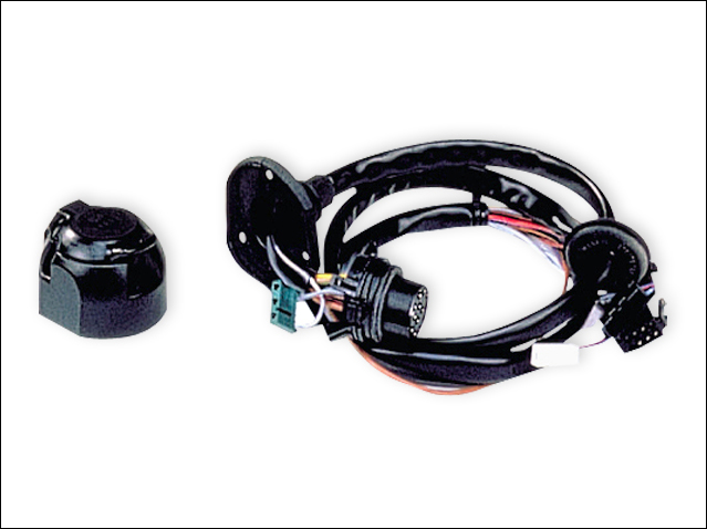 13-pin electrical kit with pre-installation - LHD/RHD