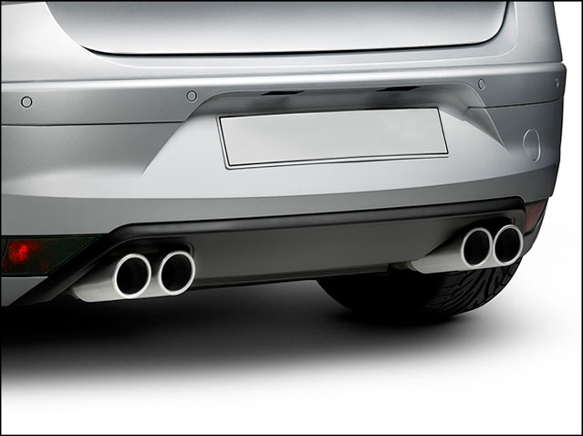 Sport exhaust (engine specifications CAX, BWA)