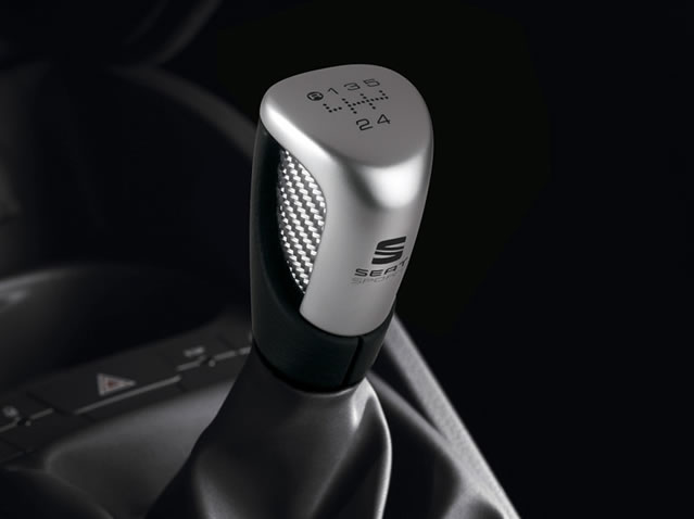 Aluminium 6sp stick shift