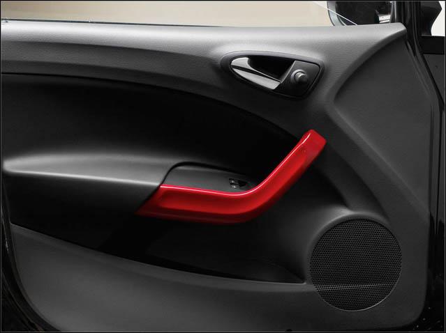 Emotion red door trim kit (5d/ST)