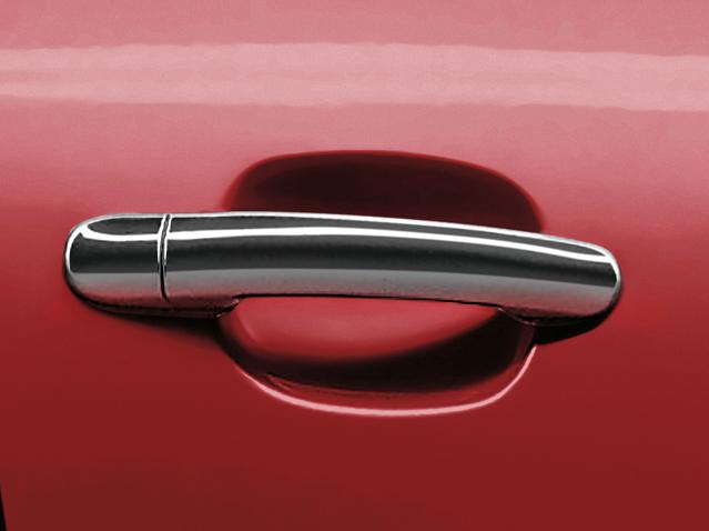 Chrome shiny exterior door handles (5d/ST)