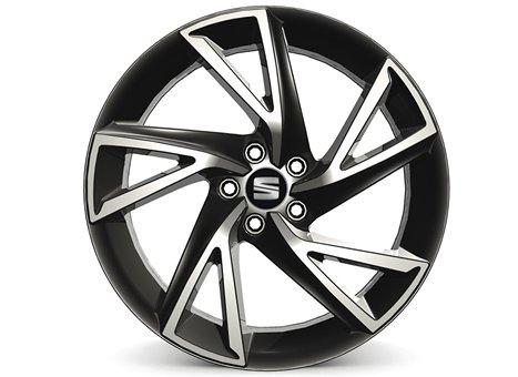 "17"" alloy wheel, anthracite diamond cut"