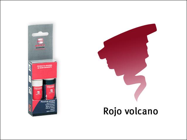 Volcano red
