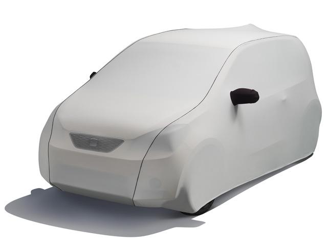 Husă auto argintiu