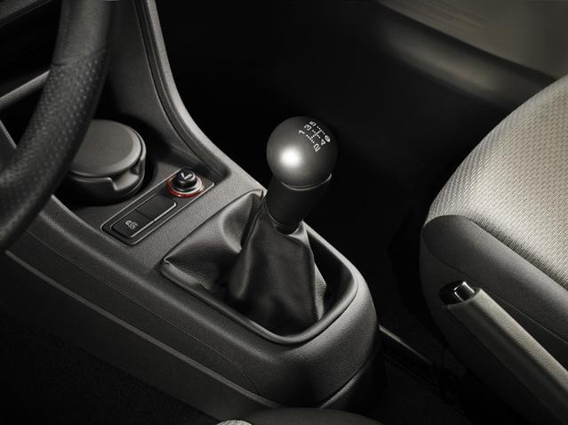 Shira Grey spherical gear knob
