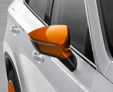 Samoa Orange exterior mirror