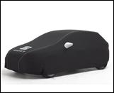 Black car cover